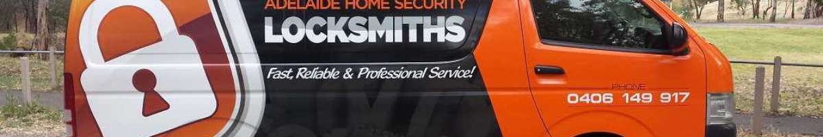 Locksmith Adelaide Home Security Banner