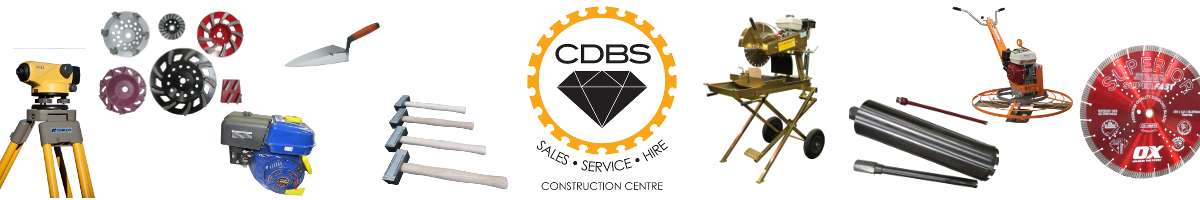 CDBS Construction Centre - Canberra Diamond Blade Suppliers Banner