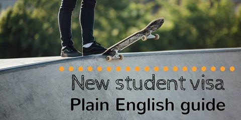 Plain English Guide To Subclass 500 Student Visa Released