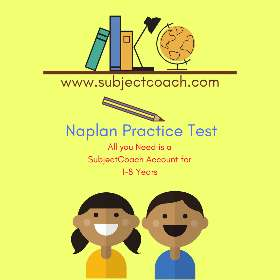 Subject Coach - Naplan Practice Test