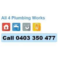 All 4 Plumbing Works Logo