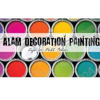 Alam Decoration Painting Logo