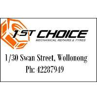 1st Choice Mechanical Repairs Logo