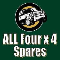 All Four X 4 Service Centre Logo