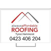 Always Affordable Roofing Logo