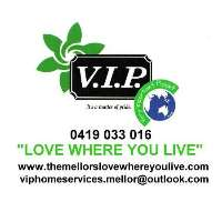 VIP Home Services, Lawns and Gardens Logo
