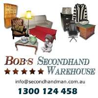 Bob's Secondhand Warehouse Logo