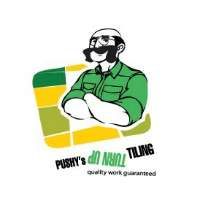 Pushy's Turn Up Tiling Logo