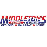 Middleton's Geelong Heating & Cooling Logo