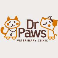Dr. Paws Veterinary Clinic Logo