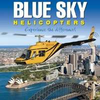 Blue Sky Helicopters Logo