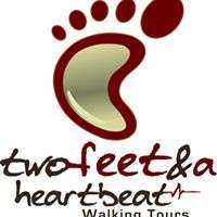 Two Feet and a Heartbeat Walking Tours Logo