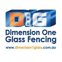 Dimension One Glass Fencing Logo