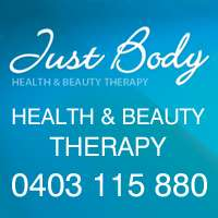Joanne's Just Body Health & Beauty Logo