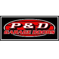 P & D Garage Doors Logo