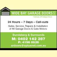 Wide Bay Garage Doors Pty Ltd Logo