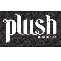 Plush Hair Design Logo