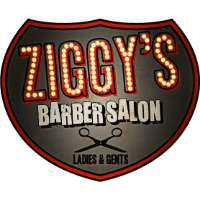 Ziggy's Barber Salon Logo