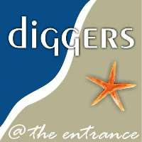 Diggers @ the entrance Logo