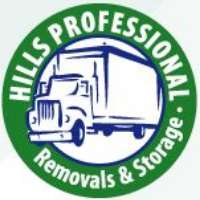Hills Professional Removals and Storage Logo