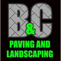 B & C Paving and Landscaping Logo