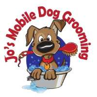 Jo's Mobile Dog Grooming Logo