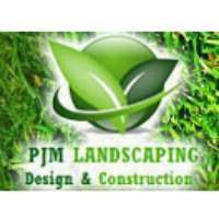 PJM Landscaping Design & Construction Logo