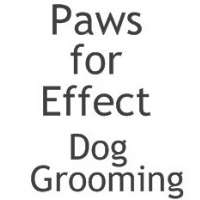 Paws for Effect Dog Grooming Logo