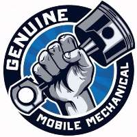 Genuine Mobile Mechanical Logo