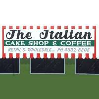 The Italian Cake Shop and Coffee Logo