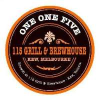 115 Grill and Brewhouse Logo