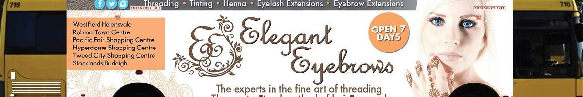 Elegant Eyebrows Banner