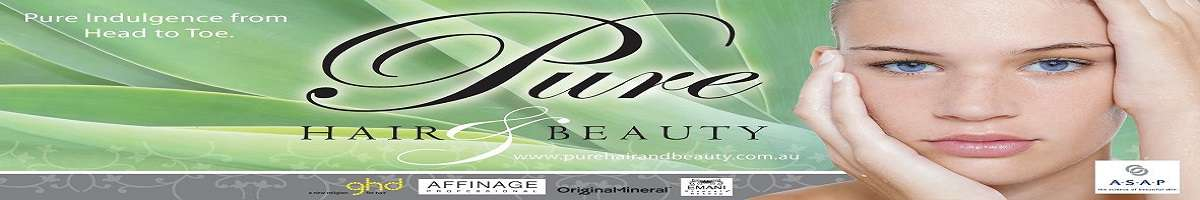 Pure Hair & Beauty Banner
