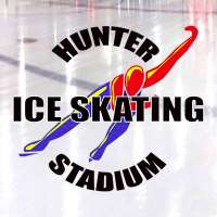 Hunter Ice Skating Stadium Logo