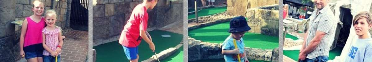 Carrara Mini Golf Banner