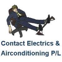 Contact Electrics & Air Conditioning Pty Ltd Logo