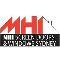 MHI Screen Doors & Grilles Sydney Logo