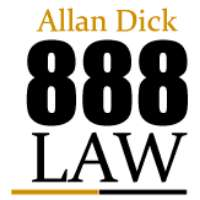 Allan Dick 888 Law Logo
