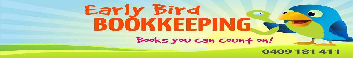 Early Bird Bookkeeping Banner