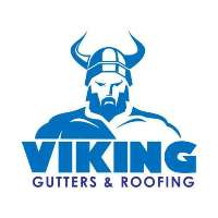 Viking Gutters and Roofing Logo