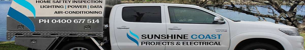 Sunshine Coast Projects & Electrical Banner
