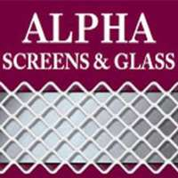 Alpha Screens & Glass Logo