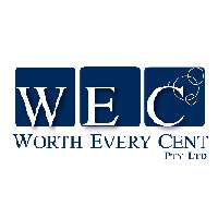 Worth Every Cent Cleaning Logo