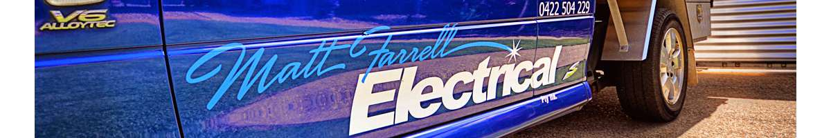 Matt Farrell Electrical Banner