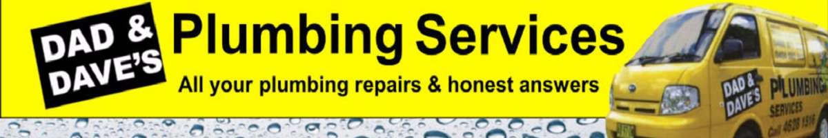 Dad & Dave's Plumbing Services Banner