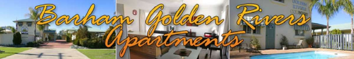 Barham Golden Rivers Apartments Banner