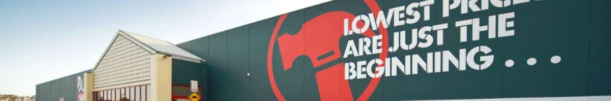 Bunnings Warehouse Banner