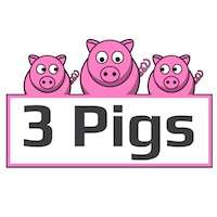 3 Pigs Promotional Products Logo