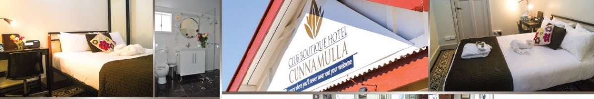 Club Boutique Hotel Cunnamulla Banner