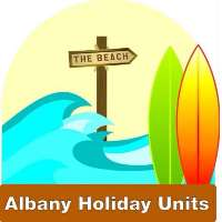 Albany Holiday Units Logo